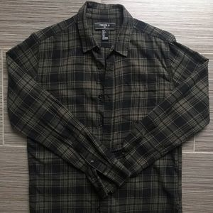 Forever 21 Men's Flannel Size S